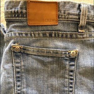 J. Crew, Straight Leg, Medium Wash Jeans Sz 10
